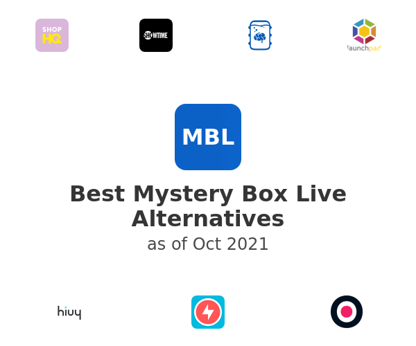 Best Mystery Box Live Alternatives