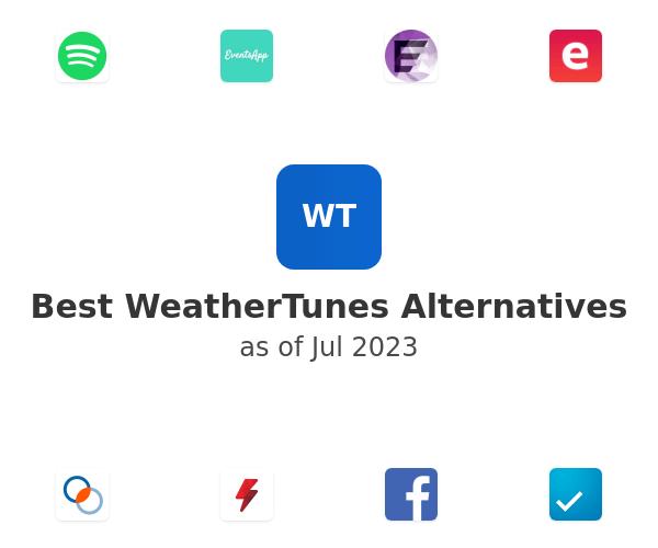 Best WeatherTunes Alternatives