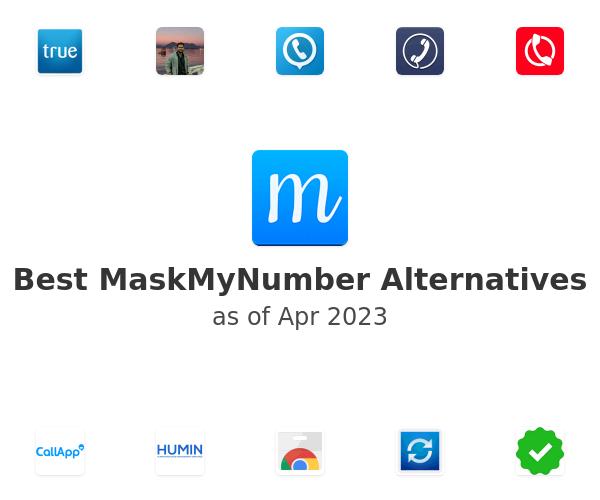 Best MaskMyNumber Alternatives