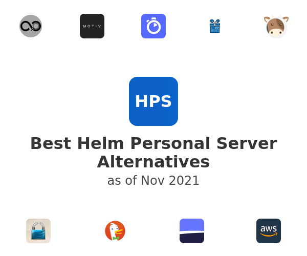 Best Helm Personal Server Alternatives