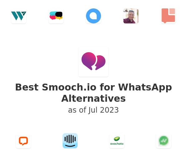 Best Smooch.io for WhatsApp Alternatives