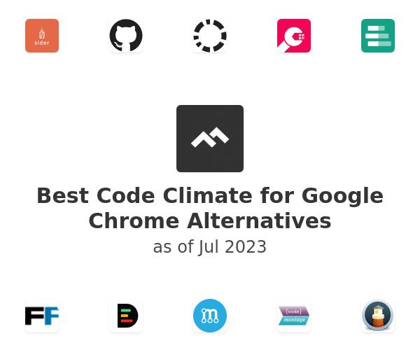 Best Code Climate for Google Chrome Alternatives