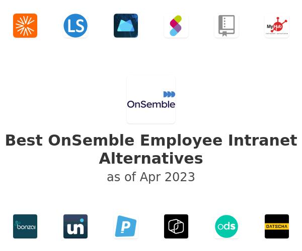 Best OnSemble Employee Intranet Alternatives
