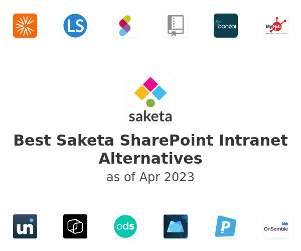 Best Saketa SharePoint Intranet Alternatives