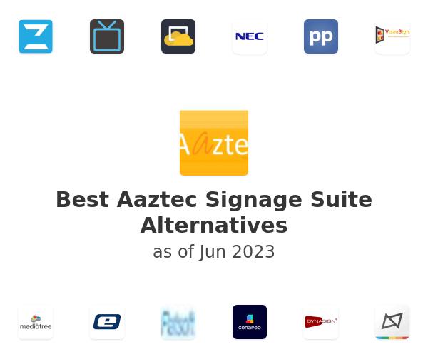 Best Aaztec Signage Suite Alternatives