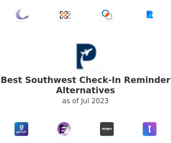 Best Southwest Check-In Reminder Alternatives