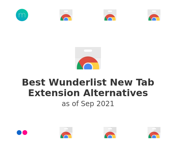 Best Wunderlist New Tab Extension Alternatives