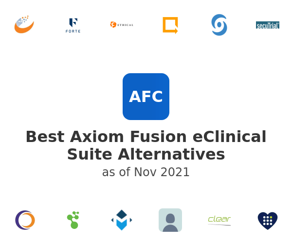 Best Axiom Fusion eClinical Suite Alternatives