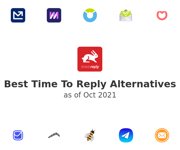 Best Time To Reply Alternatives
