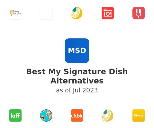Best My Signature Dish Alternatives