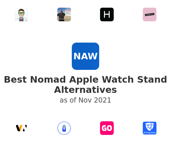 Best Nomad Apple Watch Stand Alternatives