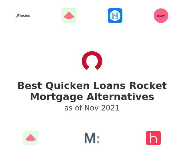 Best Quicken Loans Rocket Mortgage Alternatives