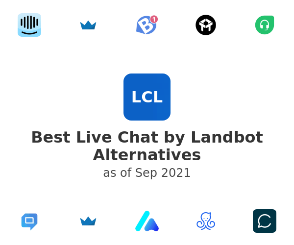 Best Live Chat by Landbot Alternatives