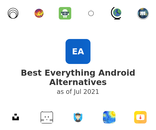 Best Everything Android Alternatives