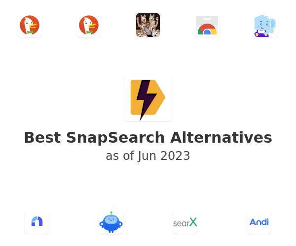 Best SnapSearch Alternatives