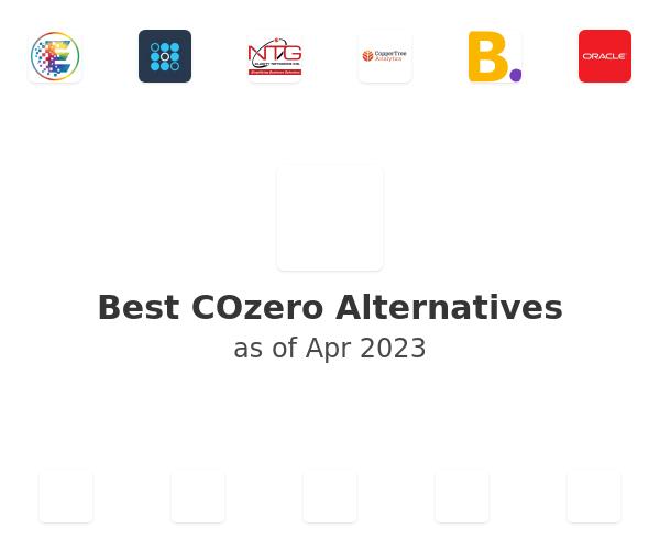 Best COzero Alternatives