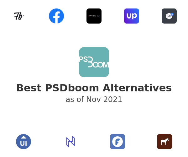 Best PSDboom Alternatives