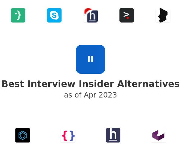 Best Interview Insider Alternatives