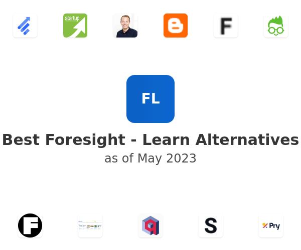 Best Foresight - Learn Alternatives