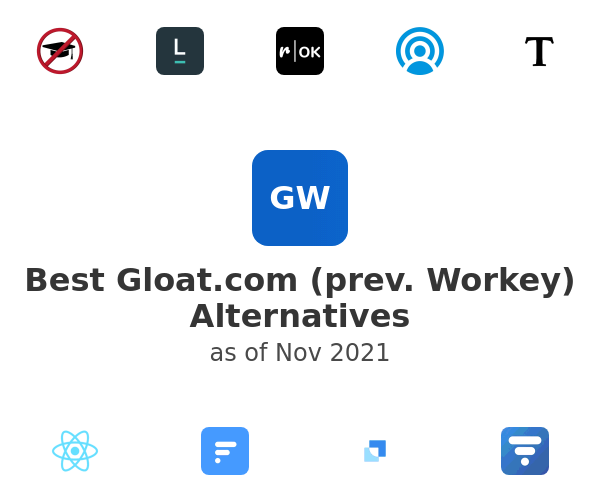 Best Gloat.com (prev. Workey) Alternatives