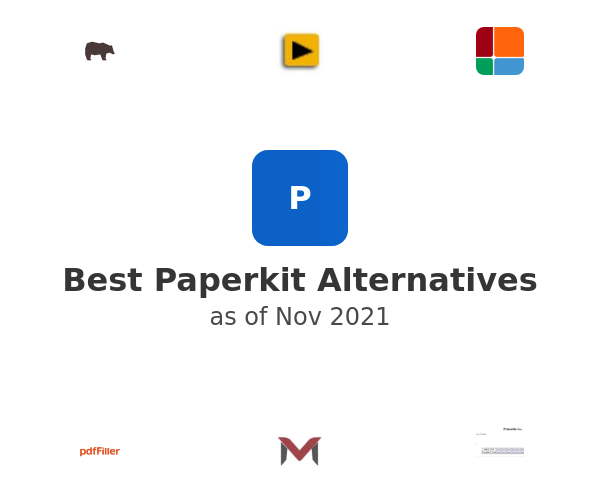 Best Paperkit Alternatives