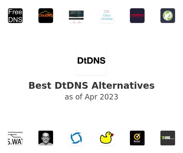 Best DtDNS Alternatives