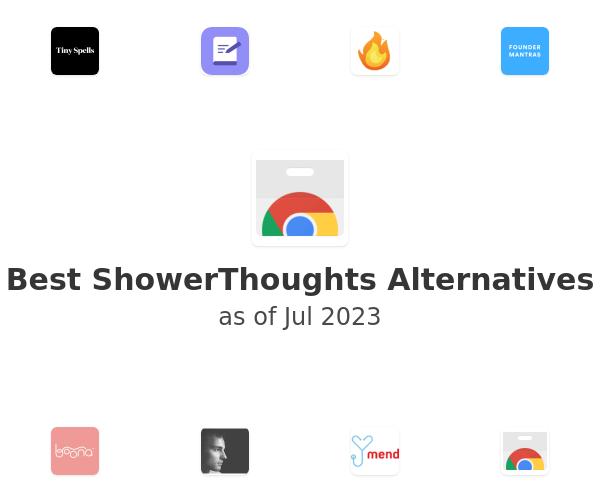 Best ShowerThoughts Alternatives