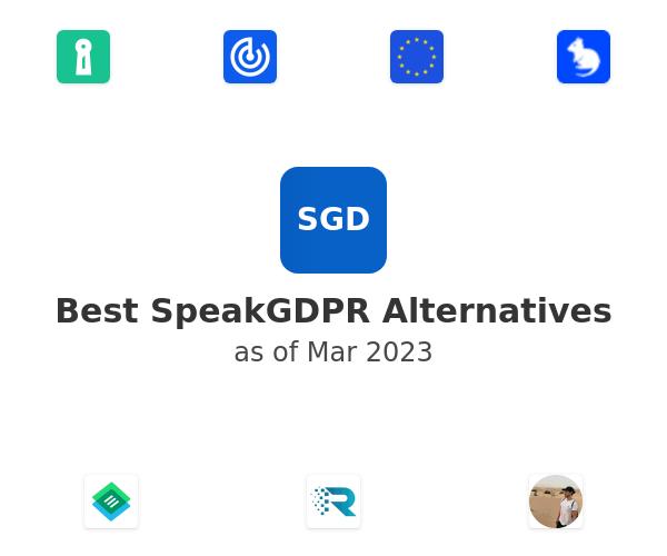 Best SpeakGDPR Alternatives