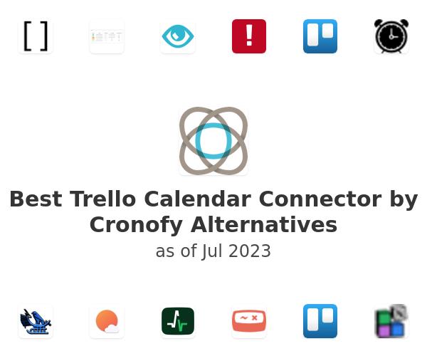 Best Trello Calendar Connector by Cronofy Alternatives