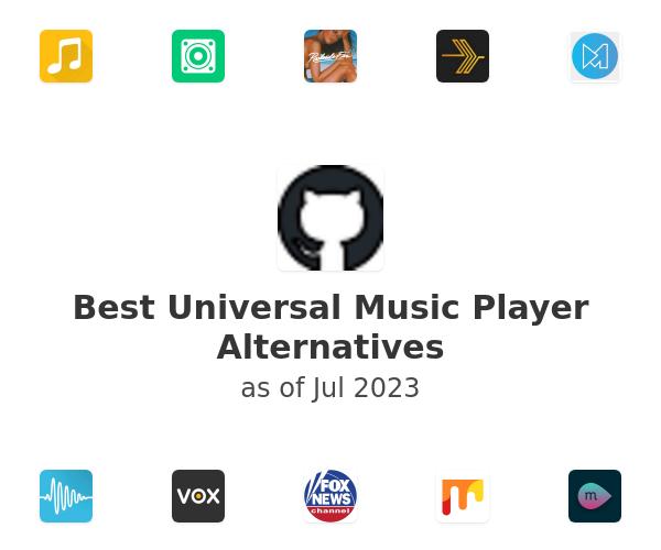 Best Universal Music Player Alternatives
