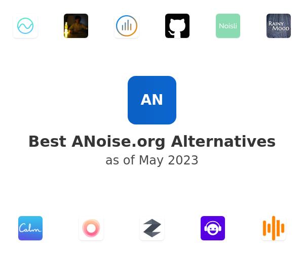 Best ANoise Alternatives