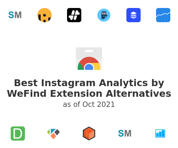 Best Instagram Analytics by WeFind Alternatives