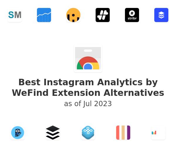Best Instagram Analytics by WeFind Alternatives
