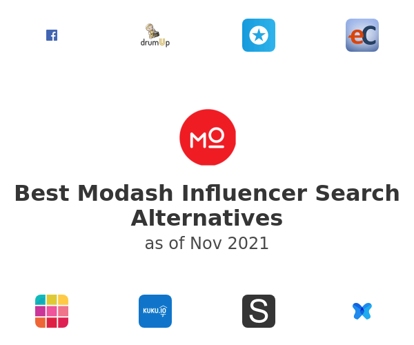 Best Modash Influencer Search Alternatives