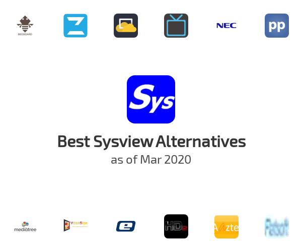 Best Sysview Alternatives