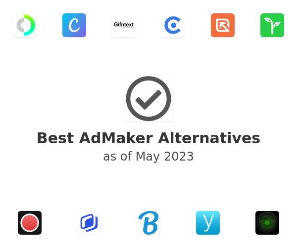 Best AdMaker Alternatives