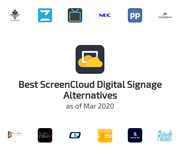 Best ScreenCloud Digital Signage Alternatives