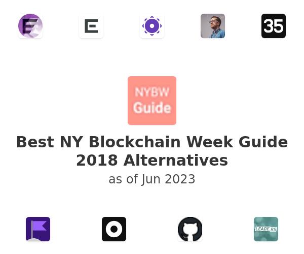 Best NY Blockchain Week Guide 2018 Alternatives