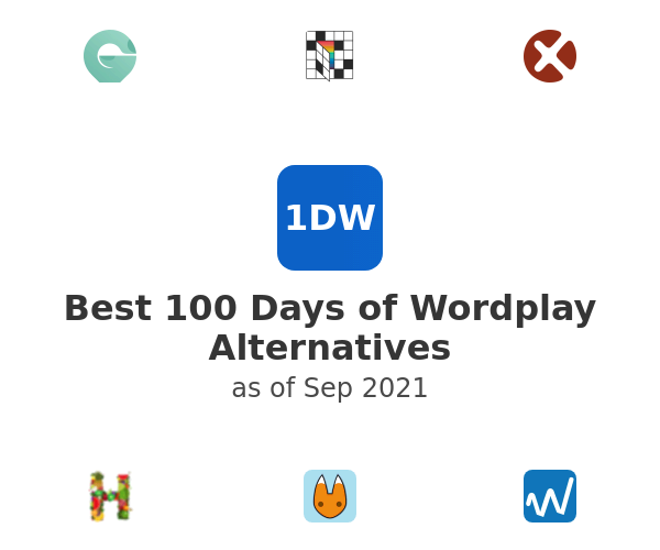 Best 100 Days of Wordplay Alternatives
