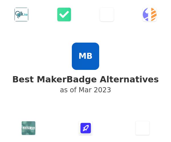 Best MakerBadge Alternatives