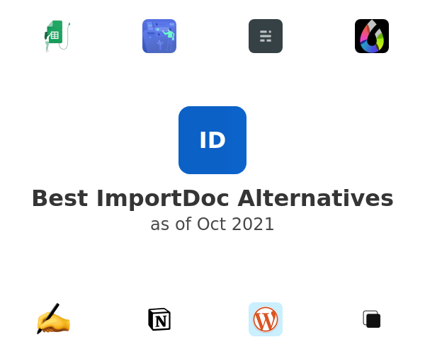 Best ImportDoc Alternatives