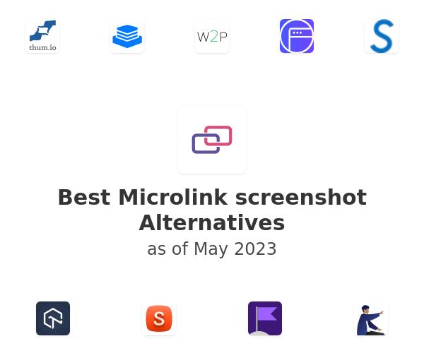 Best Microlink screenshot Alternatives