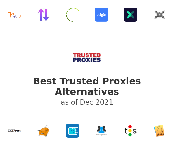Best Trusted Proxies Alternatives