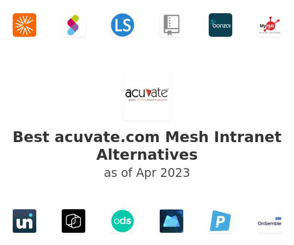 Best Mesh Intranet Alternatives