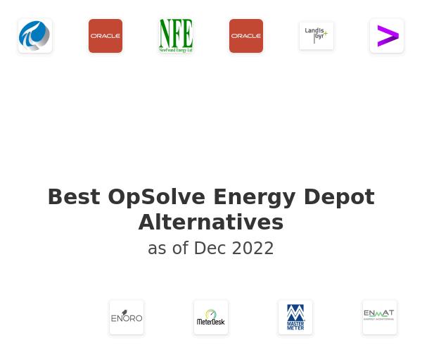 Best OpSolve Energy Depot Alternatives