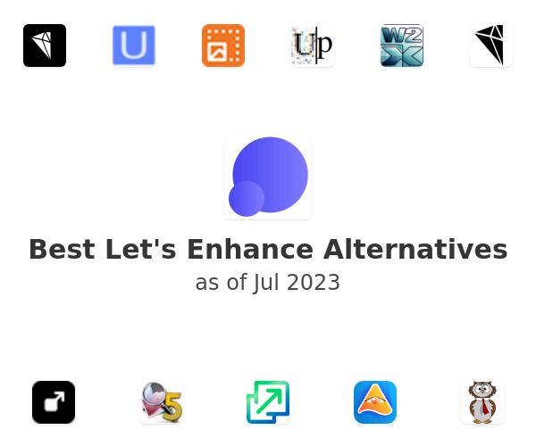 Best Let's Enhance Alternatives