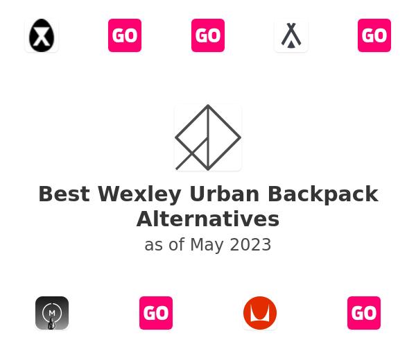 Best Wexley Urban Backpack Alternatives