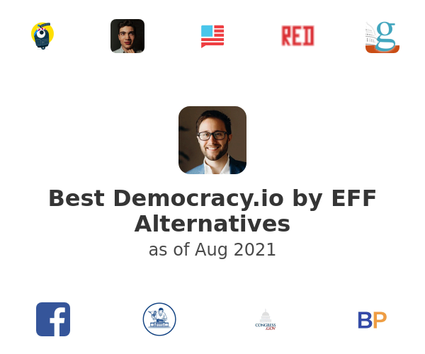 Best Democracy.io by EFF Alternatives