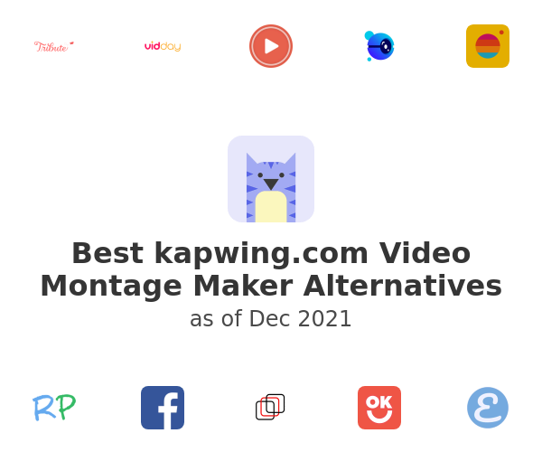 Best Video Montage Maker Alternatives