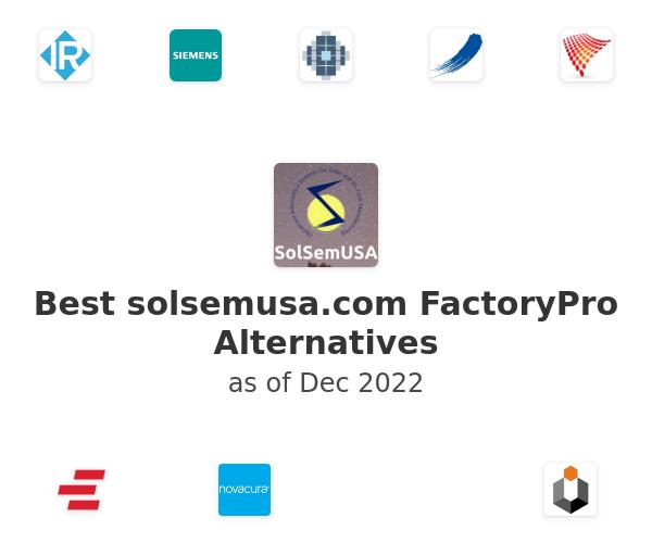 Best FactoryPro Alternatives